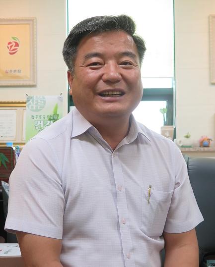 송석찬 참푸른글로벌 대표.